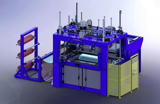 Thermo covering Machine