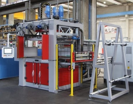 air ducts thermoforming machine