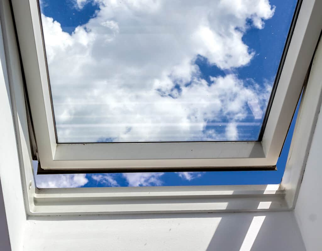 open roof window, Skylight; Shutterstock ID 420132523; Purchase Order: maggio 2019; Job: cannon news; Client/Licensee: cannon